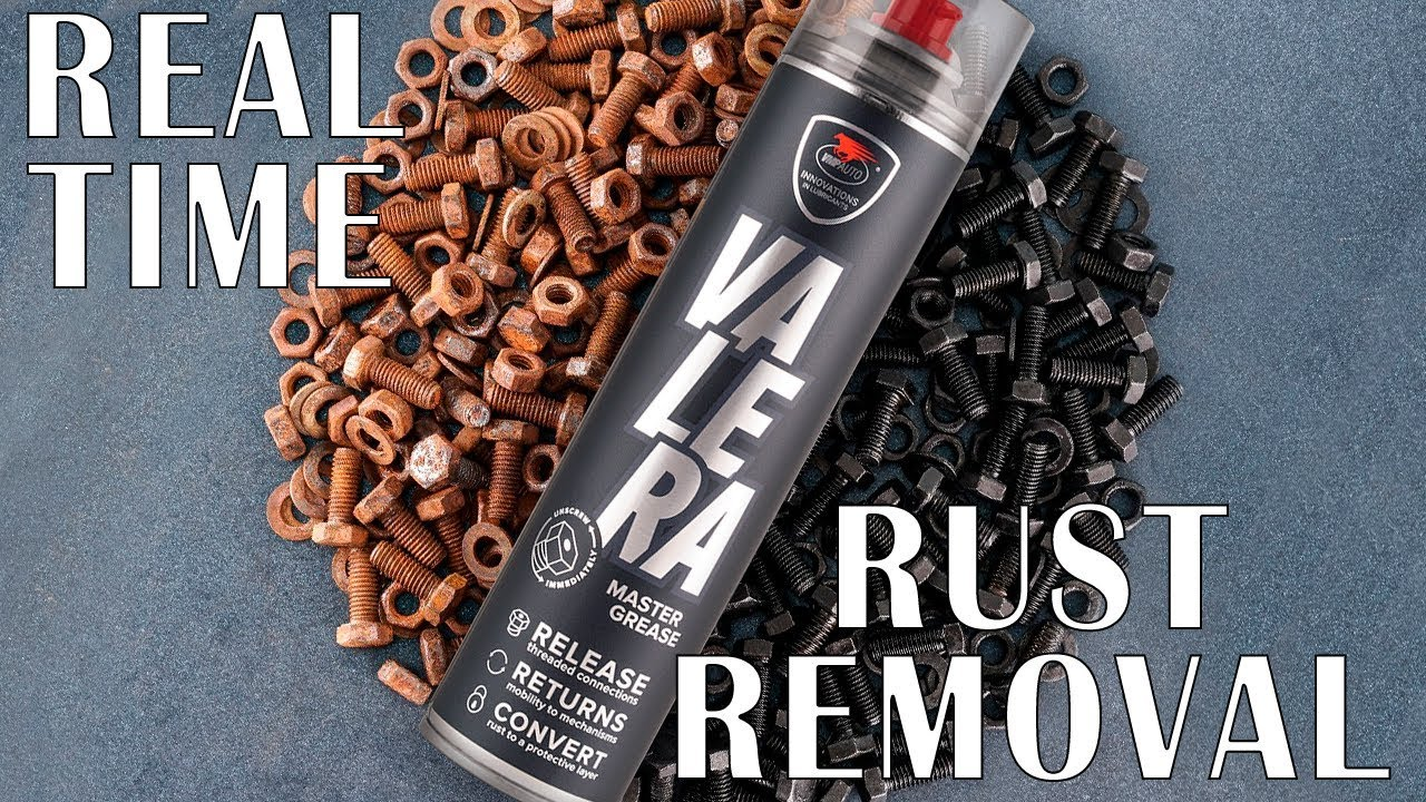 VALERA removes rust in real time