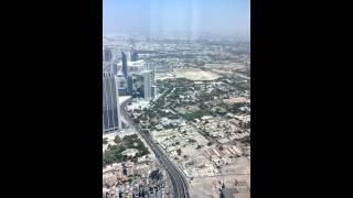 Burj Khalifa - view from 148th floor
