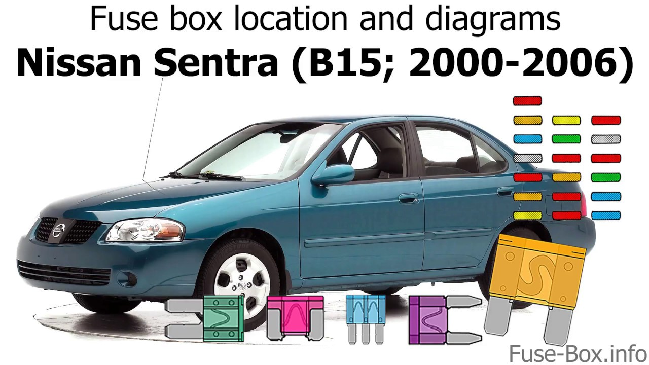 2005 nissan sentra fuse box location fuse box location and diagrams nissan sentra  2000 2006  youtube  fuse box location and diagrams nissan