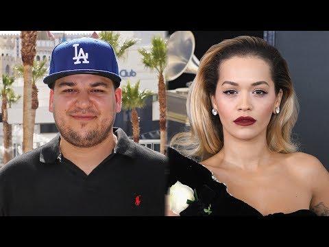 "Rob Kardashian Supports Ex Rita Ora After Being Slammed For ""Girls"""
