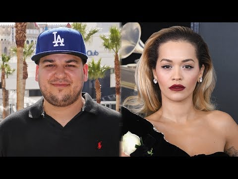 "Rob Kardashian Supports Ex Rita Ora After Being Slammed For ""Girls"""