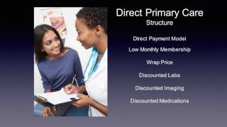 Dr. Savage slide presentation on Direct Primary Care