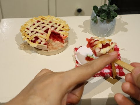 Miniature Cooking: Cherry Pie (Cooking...