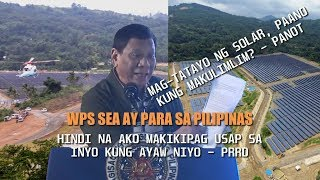 Astig naman nito! Presidente tatayo na sa tsina para sa-WPS