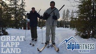 Auerhahnjagd mit Hilding und Patricia in Schwedisch Lappland