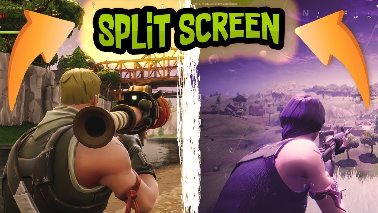 SPLIT SCREEN | Fortnite Battle Royale Fails Ep.1 - YouTube