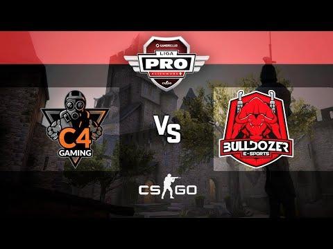 Alienware Liga Pro Gamers Club ABR/18 - C4 Gaming vs Bulldozer (M1 Cbble)