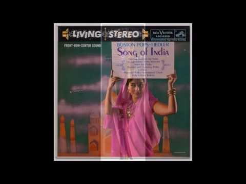 """Arthur Fiedler & The Boston Pops - Selections from """"Song of India"""" - Sound Engineering - Orchestra"""