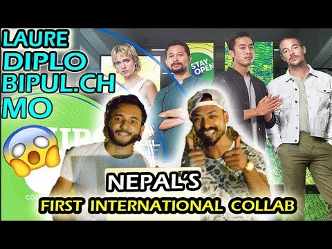REACTING TO NEPALS' FIRST INTERNATIONAL COLLAB WITH DIPLO & MØ ft. Laure & Bipul Chettri - |STAY OPEN|