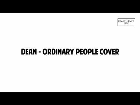[DL] DEAN - Ordinary People Cover