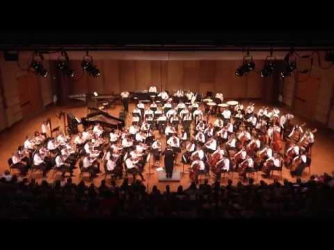 The Institute Orchestra at the 2014 Oklahoma Summer Arts Institute at Quartz Mountain