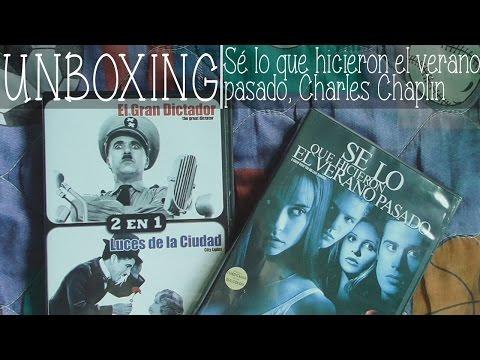 DUO PACK Charles Chaplin, Sé lo que hicieron el verano pasado Unboxing DVD