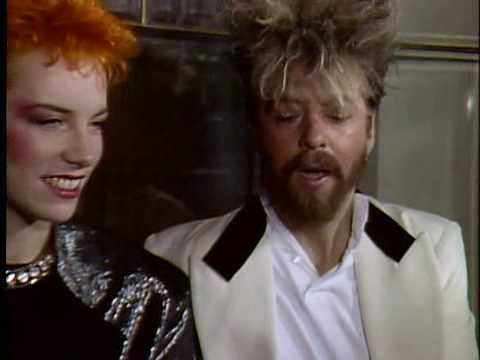 Interview with Eurythmics from Måndagsbörsen