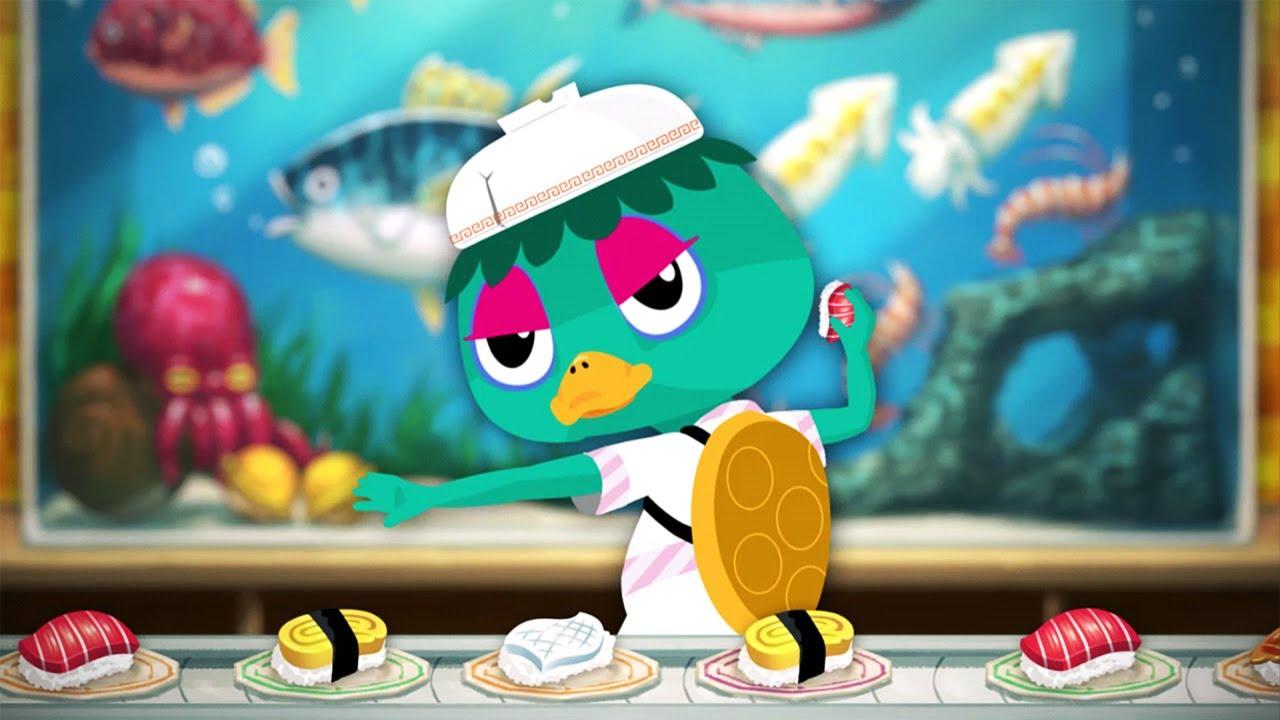 TO-FU Oh!SUSHI #1– Game Làm SuShi  – Game Nấu Ăn