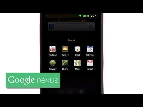 Explore Nexus S: Gingerbread Multitasking