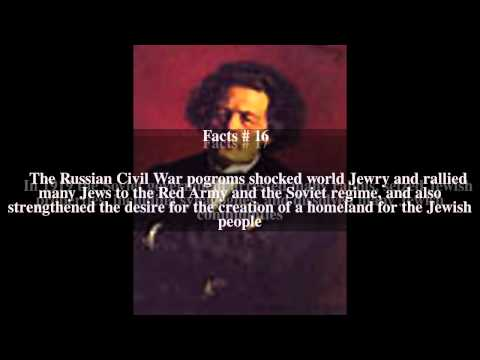 History of the Jews in Russia Top # 33 Facts
