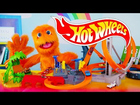 Thumbnail: BIGGEST Hot Wheels World City Ultimate Collection Hot Rod Racing Track & Disney Pixar Cars 3 Playset