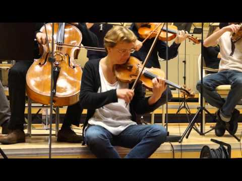 ANTJE WEITHAAS - SoloViolin and Leader of the Camerata Bern - playing BRAHMS