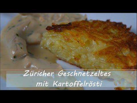 Züricher Geschnetzeltes mit Kartoffelrösti