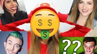 כמה כסף יוטיוברים מרוויחים?