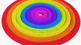 Learn Colors with Spiral Ball pit show for Kids and Children