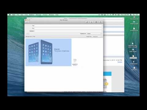 Handling Mail Attachments in Apple