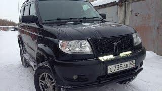 УАЗ Патриот 2012г. Обзор и тест-драйв гаражный.