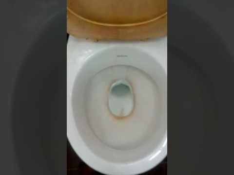 Clean toilet with coke  | cleaning toilet with coca cola