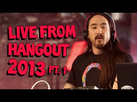 Steve Aoki Live From Hangout Music Festival 2013 Part 1/2