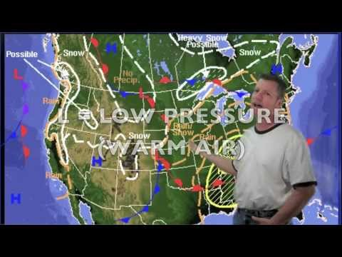 Mr Hayes Weather Series High And Low Pressure YouTube - What does a weather map tell us