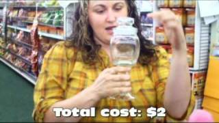 15 Second Tutorial: How To Make An Apothecary Jar For $2