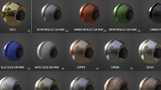 Cinema 4D Textures Pack