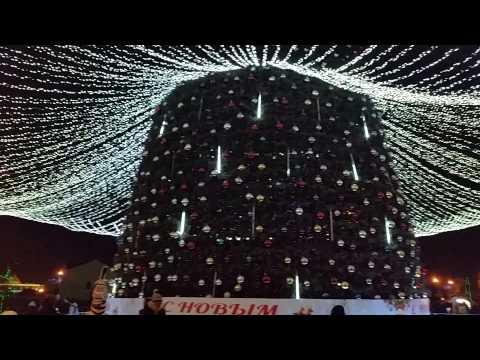 Вопрос: Где находится самая высокая Новогодняя ёлка в России?