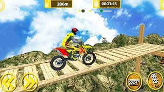Mega Ramp Forest Bike Stunt Game - Mega Ramp Game no-7   Bike Racing Games