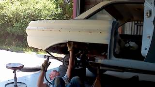 Quarter panel and wheel house panel patch PART 1