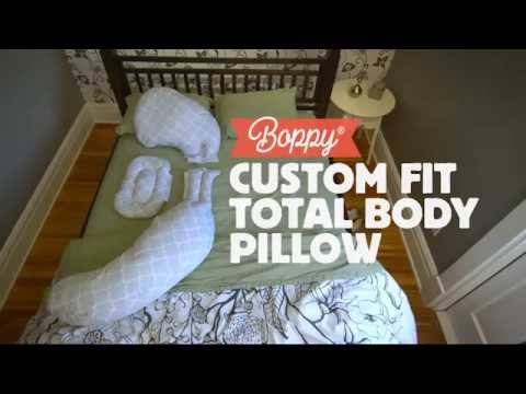 A Dad To Be Presents The Boppy Custom Fit Total Body Pillow Youtube