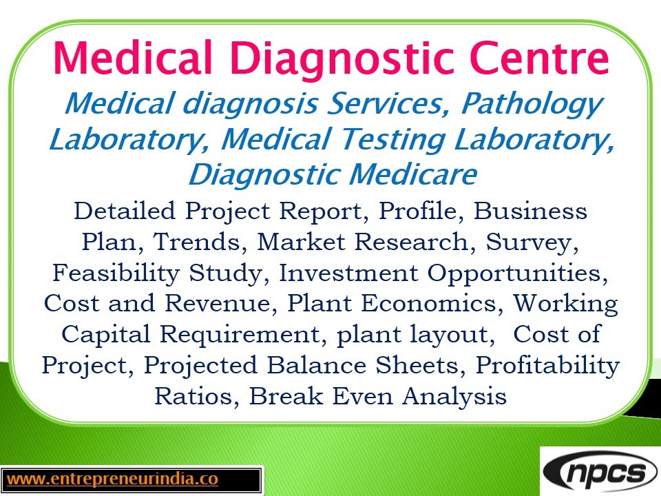 Diagnostic centre business plan