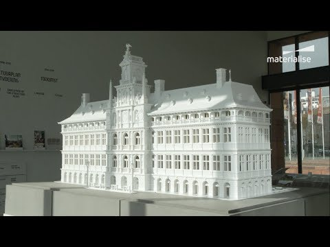 3D Printing Antwerp's 450-Year-Old Town Hall