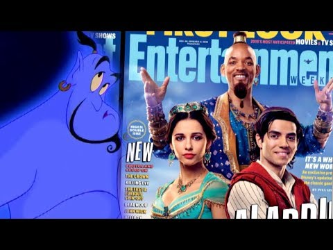 Sylvia Chacon - Photos of new Aladdin movie out fans NOT Happy.