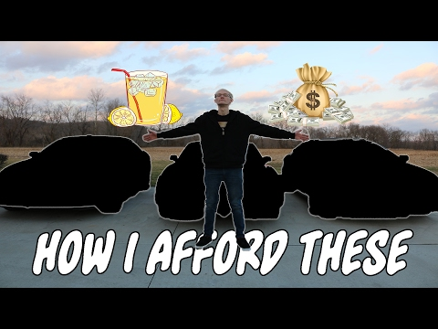 How I Afford Supercars at 17??