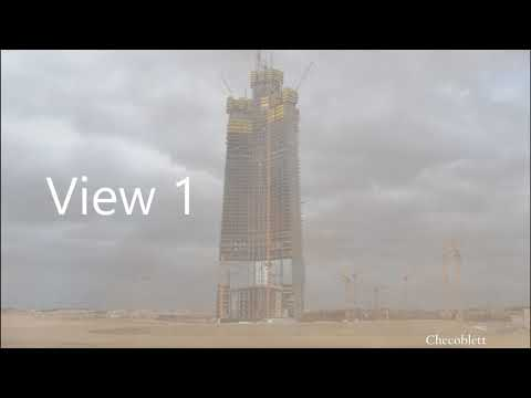 Jeddah Tower | Timelapse 2017 & January Update | First half 2018