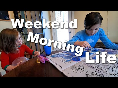 Autism Family Saturday Morning| Day in the Life