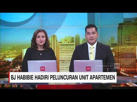 Bj.Habibie Hadiri Peluncuran Apartement Tower A5 ( Erlesen ) Pollux Habibie - Meisterstadt - Batam