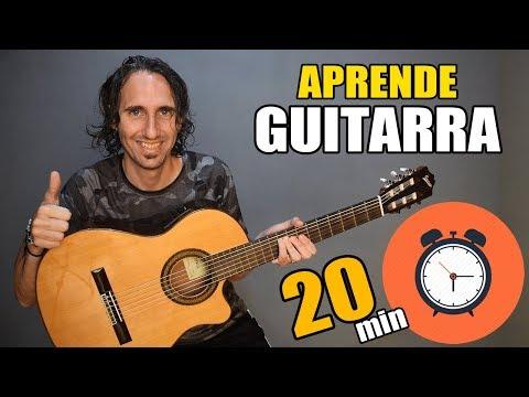 Descargar Video ¡Aprende como tocar guitarra en solo 20 minutos! El mejor tutorial para principiantes