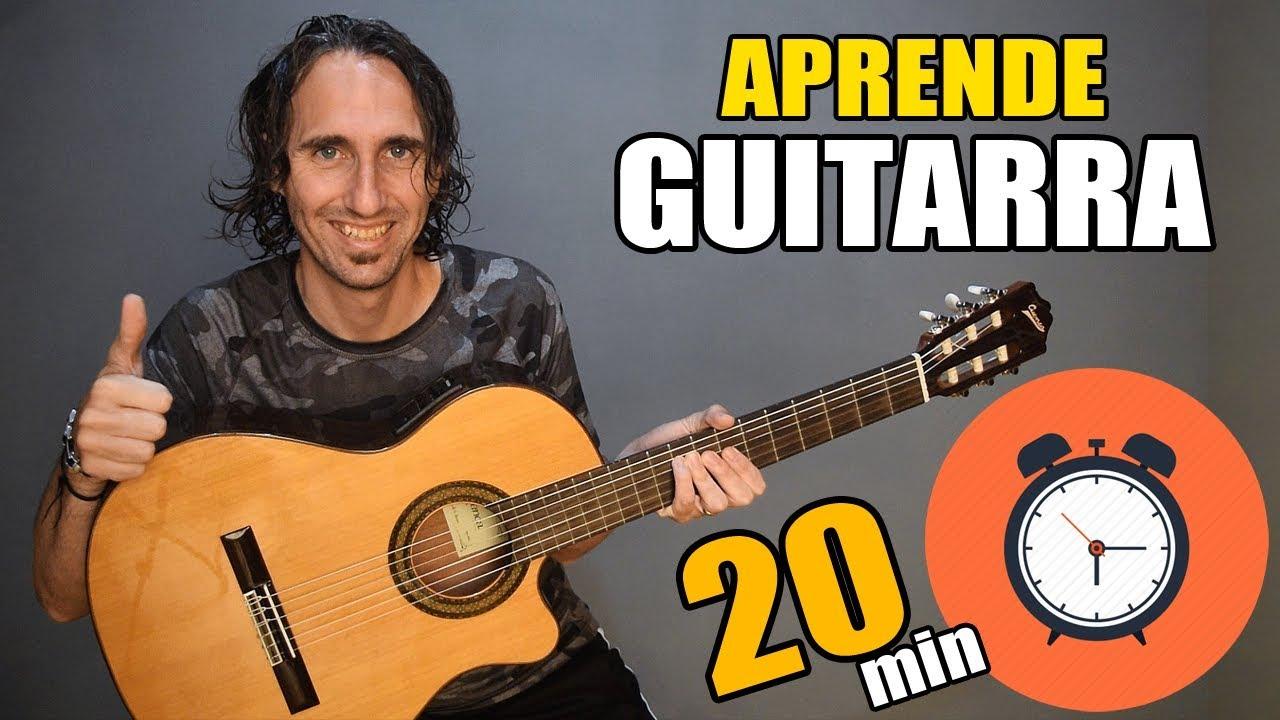 Aprende Como Tocar Guitarra En Solo 20 Minutos El Mejor Tutorial Para Principiantes