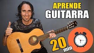 ¡Aprende como tocar guitarra en solo 20 minutos! El mejor tutorial para principiantes