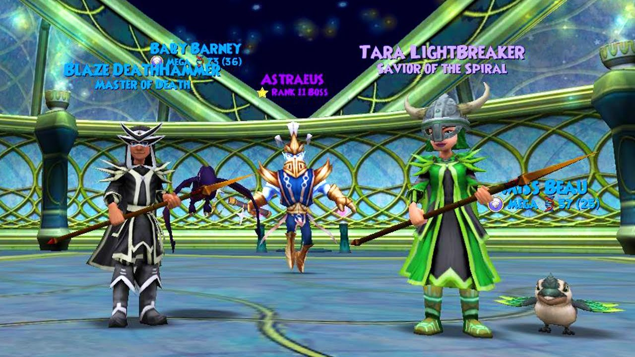 Wizard101 central.