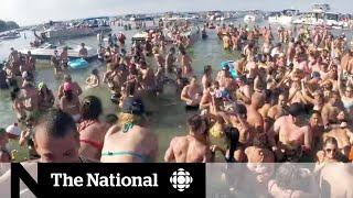 Massive boat party on Lake Erie still on despite COVID-19