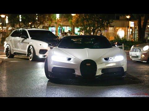 Arab Bugatti Chiron driving on the Road !