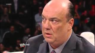 WWE SHOCKING RETURN   BROCK LESNAR 2013